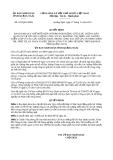 Quyết định 293/QĐ-UBND năm 2013