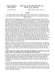Chỉ thị 32/CT-UBND năm 2013