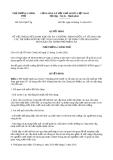 Quyết định 2010/QĐ-TTg năm 2013