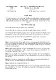 Quyết định 2308/QĐ-TTg năm 2013