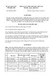 Quyết định 1906/QĐ-UBND năm 2013 tỉnh Bắc Kạn