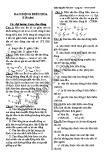 600 Câu trắc nghiệm lý thuyết Vật lý 12