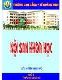 Nội san khoa học: Số 6 tháng 2/1010 - CĐYT Quảng Ninh