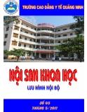 Nội san khoa học: Số 5 tháng 5/2011 - CĐYT Quảng Ninh