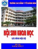 Nội san khoa học: Số 3 tháng 3/2011 - CĐYT Quảng Ninh