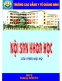 Nội san khoa học: Số 8 tháng 4/2010 - CĐYT Quảng Ninh