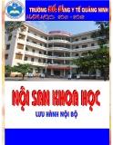 Nội san khoa học: Số 5 năm học 2011-2012 - CĐYT Quảng Ninh