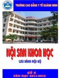 Nội san khoa học: Số 03 năm học 2011-2012 - CĐYT Quảng Ninh