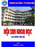 Nội san khoa học: Số 6 tháng 6/2011 - CĐYT Quảng Ninh