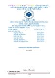 Đề tài: Quy trình sản xuất thạch dừa - ĐH CNTP TP. HCM