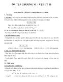 Ôn tập chương VI – Vật lý 10