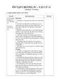 Ôn tập chương IV – Vật lý 11
