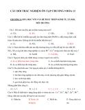 Câu hỏi trắc nghiệm ôn tập chương 9 Hóa 12