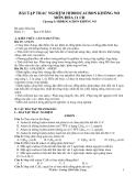 Bài tập trắc nghiệm Hidrocacbon không no môn Hóa 11 CB