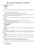 Đề cương ôn tập Hoá 11 chương 2
