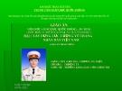 Bài giảng Xây dựng lực lượng vũ trang nhân dân Việt Nam - Phương Bá Thiết
