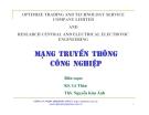 Bài giảng Mạng truyền thông công nghiệp - Ths. Nguyễn Kim Ánh