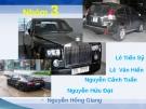 Báo cáo: Giới thiệu về ôtô Hybrid