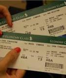 Luận văn thạc sĩ: Các yếu tố ảnh hưởng đến dự định mua vé máy bay qua mạng
