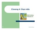 Bài giảng Nghiên cứu marketing: Chương 4 - ThS. Trần Trí Dũng