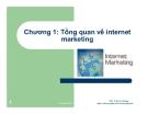Bài giảng Internet marketing: Chương 1 - ThS. Trần Trí Dũng