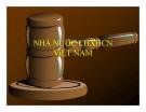 Bài giảng Pháp luật đại cương - Chương 2: Nhà nước CHXHCN Việt Nam