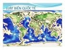 Bài giảng Luật biển quốc tế