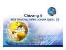 Bài giảng Kinh doanh quốc tế: Chương 4 - Trương Khánh Vĩnh Xuyên