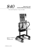 Ebook 840 Ventilator System Operator's and Technical Reference Manual