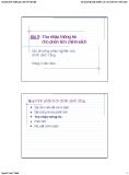 Bài giảng Các phương pháp nghiên cứu cho phân tích chính sách: Bài 9 - Nguyễn Xuân Thành