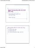 Bài giảng Các phương pháp nghiên cứu cho phân tích chính sách: Bài 8 - Nguyễn Xuân Thành