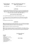 Quyết định 859/QĐ-UBND năm 2013