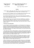 Chỉ thị 23/CT-UBND năm 2013