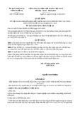 Quyết định 5178/QĐ-UBND năm 2013
