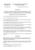 Quyết định 1836/QĐ-UBND năm 2013