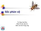 Bài giảng Sốc phản vệ - TS. Phan Hữu Phúc