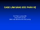 Bài giảng Case lâm sàng sốc phản vệ - Bs Phạm Lương Hiền