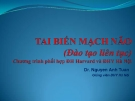 Bài giảng Tai biến mạch máu não - Dr. Nguyen Anh Tuan