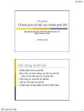 Bài giảng 8: Chính sách xã hội của chính phủ - Đỗ Thiên Anh Tuấn