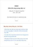 Bài giảng Biến đổi năng lượng điện cơ: Bài giảng 9 - TS. Nguyễn Quang Nam