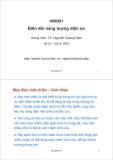 Bài giảng Biến đổi năng lượng điện cơ: Bài giảng 10 - TS. Nguyễn Quang Nam