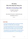 Bài giảng Điều khiển máy điện nâng cao: Bài giảng 3 - TS. Nguyễn Quang Nam