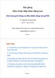 Bài giảng Điều khiển máy điện nâng cao: Bài giảng 7 - TS. Nguyễn Quang Nam