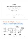 Bài giảng Biến đổi năng lượng điện cơ: Bài giảng 1 - TS. Nguyễn Quang Nam