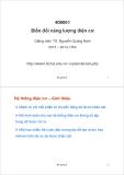 Bài giảng Biến đổi năng lượng điện cơ: Bài giảng 5 - TS. Nguyễn Quang Nam