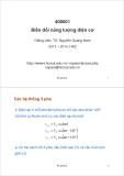 Bài giảng Biến đổi năng lượng điện cơ: Bài giảng 2 - TS. Nguyễn Quang Nam