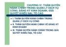 Bài giảng Thẩm quyền hành chính: Chương 4 - GV. Nguyễn Minh Tuấn