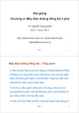 Bài giảng Máy điện: Chương 4 - TS. Nguyễn Quang Nam