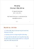 Bài giảng Máy điện: Chương 2 - TS. Nguyễn Quang Nam