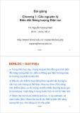 Bài giảng Máy điện: Chương 1 - TS. Nguyễn Quang Nam